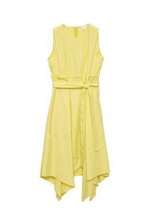 Cos летнее платье в полоску