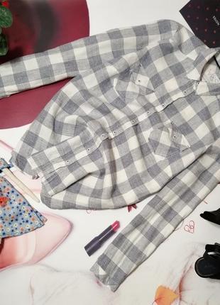 Рубашка marks&spencer, 100% лен, размер 14