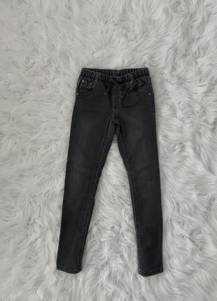 Стильные зауженные джинсы 8-9 лет. mothercare италия 🇮🇹