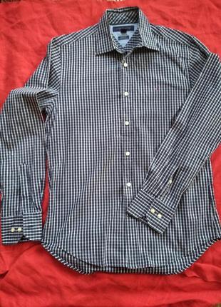 Рубашка,сорочка с длинным рукавом в клетку tommy hilfiger