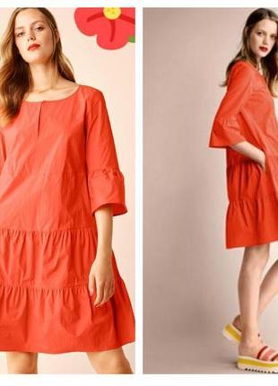 Оригинал! премиум бред! очаровательное платье дорогого бренда с карманами