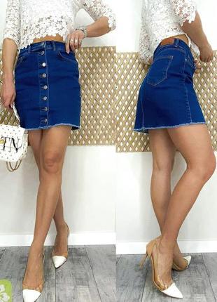 Джинсовая турецкая юбка arox р. 34-40.