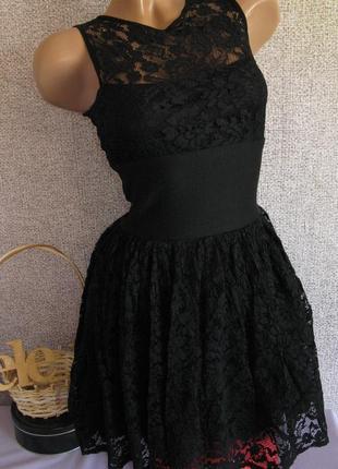 Красивое платье гипюр размер eur 34-36