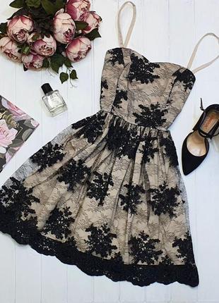 Платье с пышной юбочкой