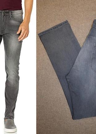 Джинсы lee men's slim fit tapered leg 40w x 32l и 42w x 32l