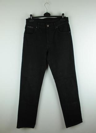 Оригинальные качественные джинсы wrangler texas stretch black denim