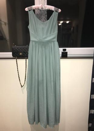 Краевое вечернее платье