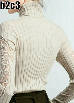 Гольф водолазка кофта свитер реглан полувер джемпер женский
