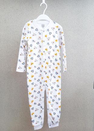 Слип пижама малышам