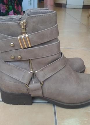 Демисезонные ботинки new look
