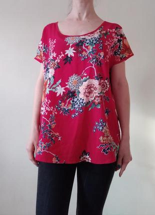 Легкая красная блуза