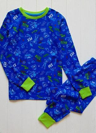 George. размер 7-8 лет. новая яркая пижама для мальчика