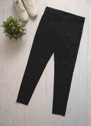 Джинси брюки темно-сірі sinsay