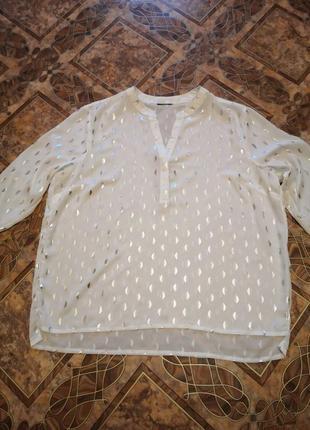 Шифоновая блуза, размер 48/50.