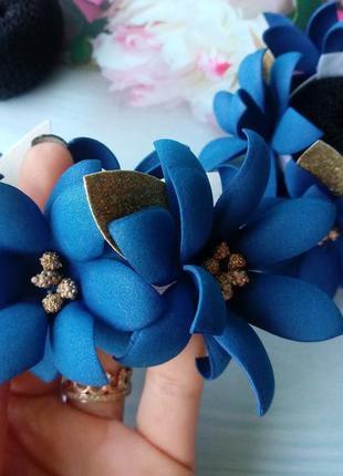 Резинки на гульки цветы