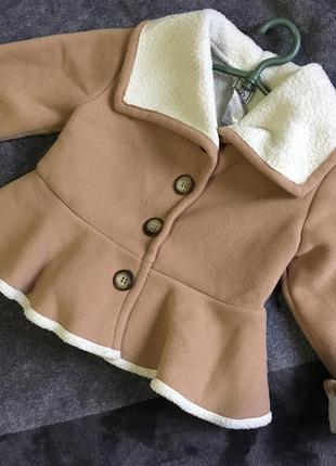 Пальто на девочку 😍3т