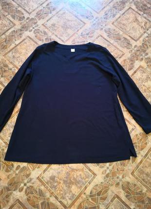 Трикотажная кофточка, блуза, туника, размер 54/56