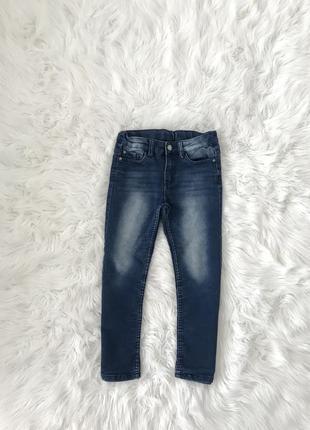 Крутые трикотажные джинсы 8-10 лет. y.f.k. швеция 🇸🇪