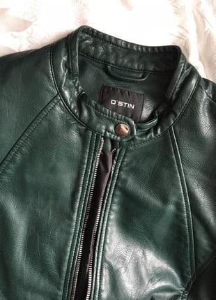 Кожаная куртка ostin #розвантажуюсь