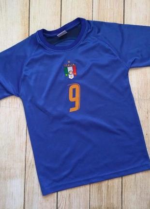 Футболка футбольная детская сборная италии тони italia toni