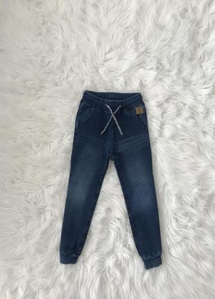 Стильные джогеры 6-8 лет. трикотажный джинс. lindex швеция 🇸🇪