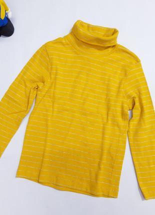 Яркий жёлтый гольфик в полоску kiabi  на 6 лет