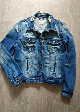 Стильная джинсовка оверсайз