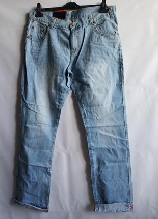 Распродажа!  мужские джинсы regular fit французского бренда promod  европа франция