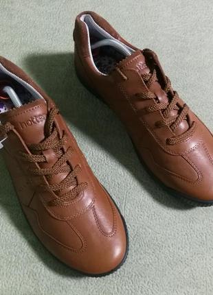 Новые кожаные туфли hotter,большой размер