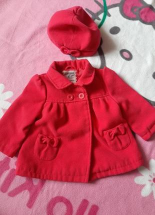 Пальто для маленької принцеси