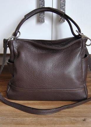 Кожаная сумка /шкіряна сумка
