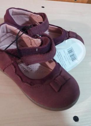 Туфли  для девочки george (англия).