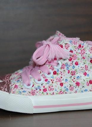Кроссовки кеды if the shoe fits р.19-20 original