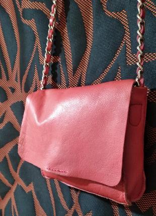 Безкоштовна доставка! очень красивая сумочка из натуральной кожи next