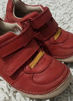 Кожаные демисезонные ботинки clarks размер 5.5 g на 22