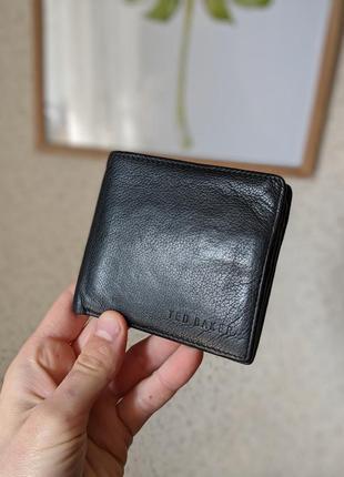 Кожаный кошелек ted baker