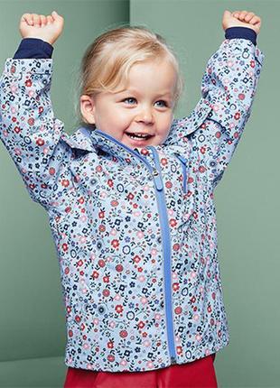Красивая и качественная куртка-дождевик, ecorepel® от тсм tchibo(чибо),германия,86-92 см