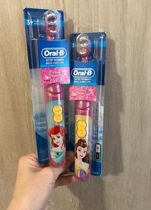 Oral-b детская зубная электрощетка