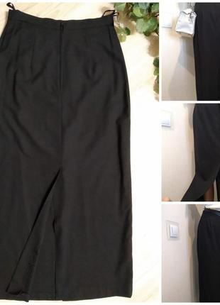Лёгкая базовая юбка-карандаш макси
