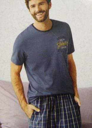 Мужская пижама, комплект для дома livergy р.хl 56-58