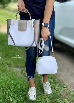 Женская сумка экокожа комплект (арт.л710)