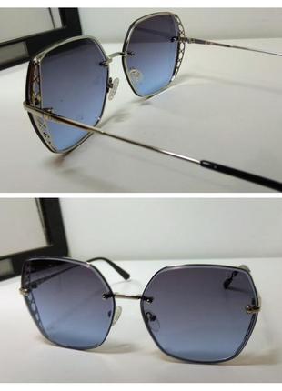 Женские солнцезащитные очки-льдинки💎