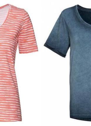 Комплект из двух штук! стильная женская футболка esmara