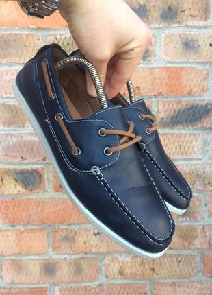 Мокасины, туфли f&f размер 41 (26 см.)