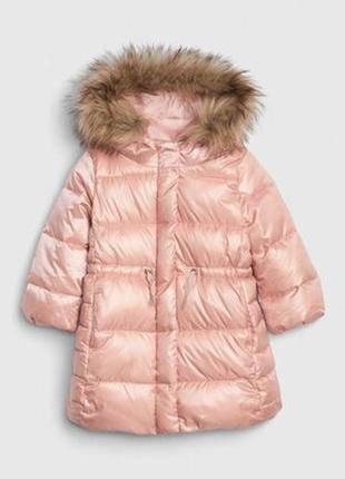 Зимнее пуховое пальто gap