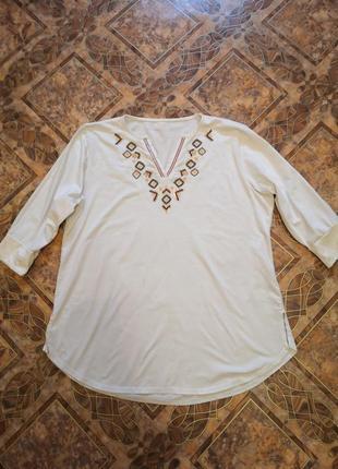 Кофточка, блузка, размер 52/54.