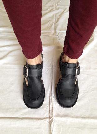 Шикарные на платформе туфли кожа 100% в коробке
