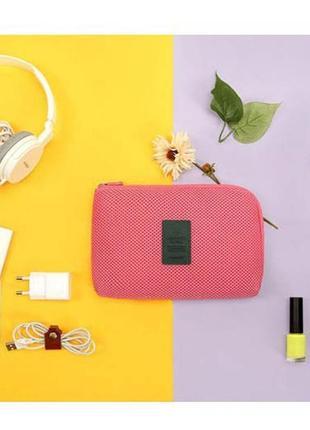 Новая классный органайзер сумочка / косметичка для мелочей / клатч - кошелек