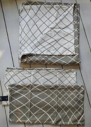 Комплект двухстороннего постельного белья 220*240 германия meradiso серое