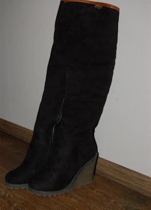 Зимние ботиночки на платформе